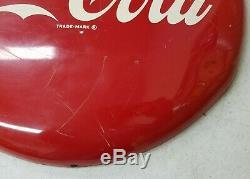 16 Inch Coca-Cola Spot Button Sign