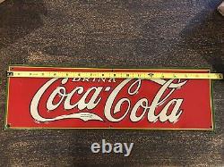 1932 Coca-Cola Tin Sign
