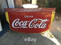 1936 Coke sign oringinal