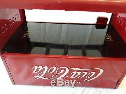 1939 Coca Cola salesman cooler Kay Displays red 10.25x12x7.25