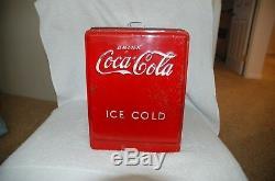 1939 Original Coca Cola Salesman Sample Cooler