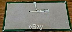1940's COCA COLA Tin over Cardboard Hang Sign