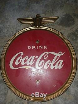 1940's Coca Cola WW2 Sign RARE