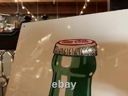 1940's Coke Bottle Coca-Cola 31 Tin Sign Watch Video