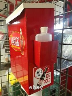 1940s -50s Era Coca Cola Vintage Style Soda Fountain Booth / Counter Towelbox