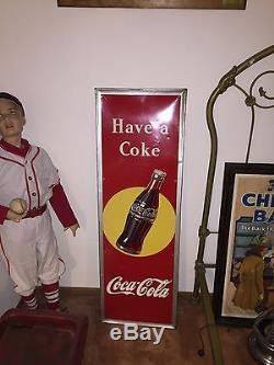 1947 Coca Cola Sign Original
