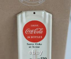 1948 NOS COCA COLA Louisville Red Button Thermometer Serve Coke At Home