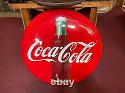 1950's Coca-Cola COKE Bottle 36 Porcelain Button Sign Watch Video