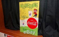 1950's Coca-Cola Theater Sign