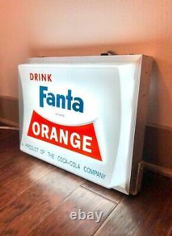 1950's Fanta Orange Lighted Sign