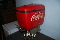 1950's Vintage Coca Cola Outboard Diner Coke Fountain Dispenser Dole Chicago