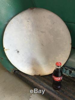 1950s Vintage 16 Metal Tin Advertising Coca Cola Coke Button Retro Wall Sign