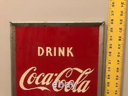 1951 Coca Cola bottle sign mint condition