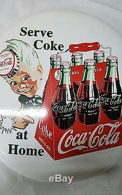 1956 16 white coke button