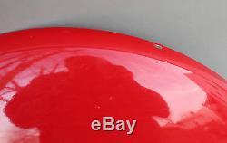 1957 24 COCA COLA Round Button Metal Sign AM71 9++ not porcelain
