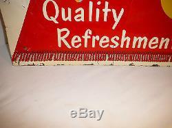 1957 TAKE A CASE HOME COCA COLA TIN ADVERTISING SIGN ESTATE BUY NO RESERVE