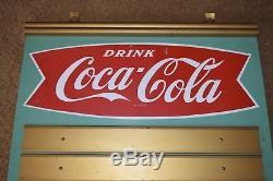 1959 Coca Cola Coke Menu Board Sign No Inserts Excellent Condition Vintage Pepsi