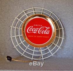 1960s Drink Coca-Cola/Sign Of Good Taste light up signmetal/glass