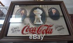 1977 Coca Cola Mirror Originator & Founder Limited Edition Issued by Coca Cola