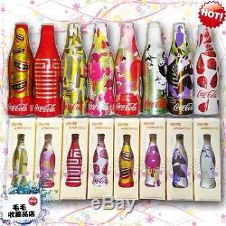 2008 china coca cola WE8 Aluminum Bottle set with box