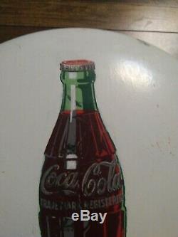 24 inch white coke button