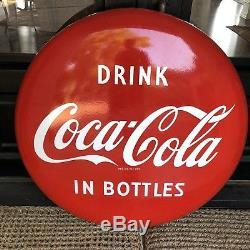 48 1950s Coca-Cola Button