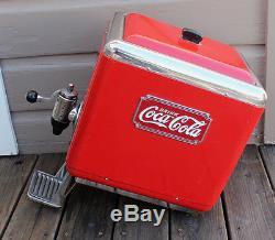 ANTIQUE VINTAGE Art Deco Multiplex Outboard Coca Cola Soda Fountain Dispenser