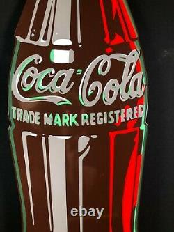 Ande Rooney Porcelain Limited Edition 43 Die Cut Coca Cola Advertising Sign