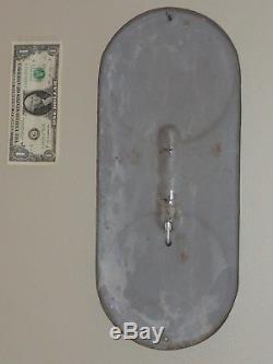 Antqe/Vtg Adv Thermometer Sign, COCA COLA SILHOUETTE Girl Soda1939, RARE, Org, USA