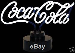 COCA COLA COKE SCRIPT LOGO NEON SIGN NEW