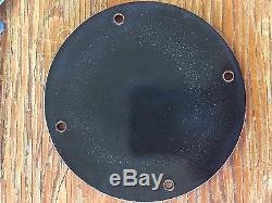 COCA-COLA PORCELAIN DOOR PALM-PRESS/PUSH/PULL ADVERTISING SIGN. 5 Diameter