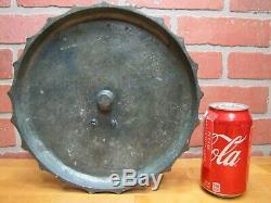 COCA-COLA SUNDIAL BOTTLE & CAP 1940s COKE Advertising Promo Bronze Ad Sign MIAMI
