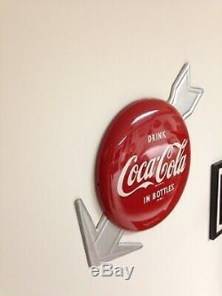 Coca Cola 12 Button With Nos Arrow Am 95 X