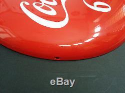Coca-Cola 16 Button Porcelain Mint state Sign