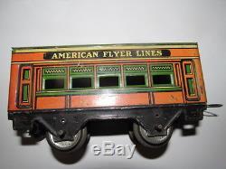 Coca Cola 1928 AMERICAN FLYER 6073 TRAIN SET PURE AS SUNLIGHT COKE SIGN