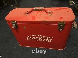 Coca-Cola (1950's) airline cooler
