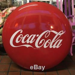 Coca Cola 36 button sign Vintage