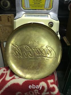 Coca Cola Brass Button 16 Original Very Rare