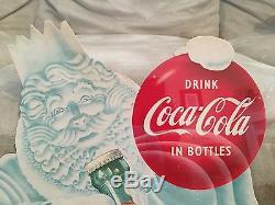 Coca Cola Cardboard 1953 Easel Back NOS