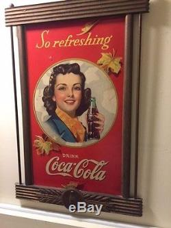 Coca-Cola Cardboard Sign