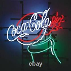 Coca Cola Coke 17x14 Neon Sign Lamp Light Beer With Dimmer