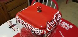 Coca Cola Coke Coin Gumball Candy Peanut Oak Acorn Vending Machine / Sign