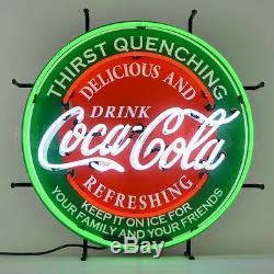 Coca Cola Evergreen Neon Sign New Coke Sign Neonetics