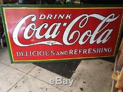 Coca Cola Five Color Sign 1932