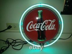 Coca Cola Neon Lamp Sign 12x12 Acrylic Bright Lighting Bar Artwork Decor Pub A