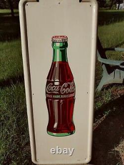 Coca Cola Pilaster Sign