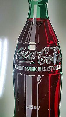 Coca Cola Pilaster sign AM2-47 5cent