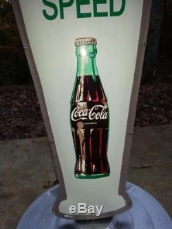 Coca Cola Policeman Sign Fishtail Version