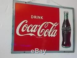 Coca Cola Porcelain Sign Made in England