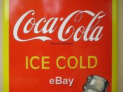 Coca Cola Porcelain sign